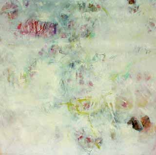 "Cool Mother Earth, 50"" x 50"" (127 x 127 cm), Oil/Canvas, 1995"