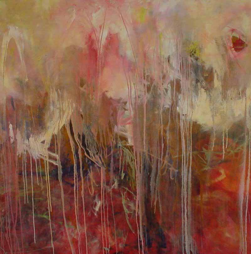 Red Painting Franz Kline
