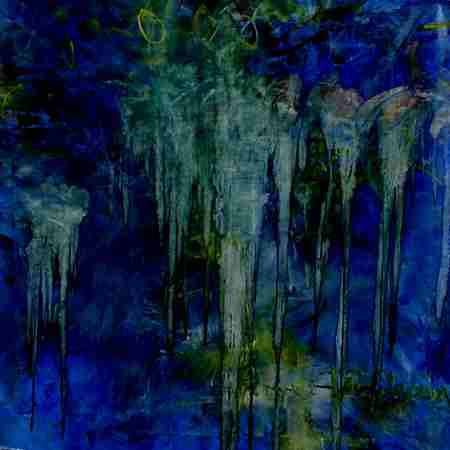 "Prayer for Solution, 50"" x 50"" (127 x 127 cm), Oil/Canvas, 1996"